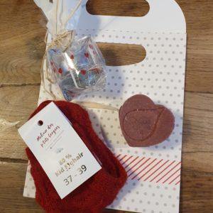 Box Saint valentin Chèvres angora laine mohair local producteur produits locaux ferme des P'tits bergers chaussy atraps loiret Essonne Angerville